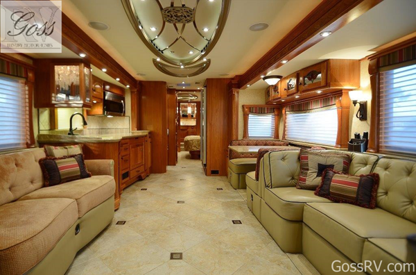 Prevost Rv Motorhomes For Rent Or Lease With Private Driver